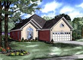 Plan Number 82025 - 1608 Square Feet