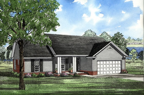 Ranch House Plan 82026 Elevation