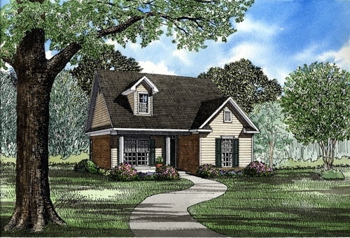 Cape Cod Country House Plan 82029 Elevation
