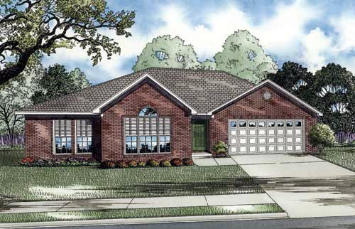 Craftsman European House Plan 82031 Elevation