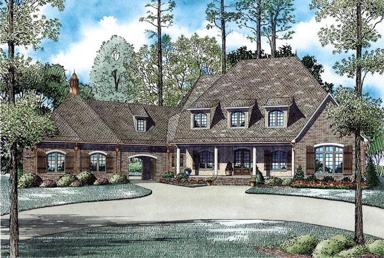 House Plan 82036 Elevation