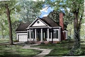 Plan Number 82040 - 1172 Square Feet