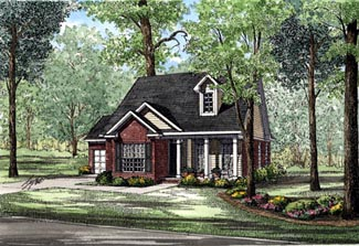 Country House Plan 82042 Elevation