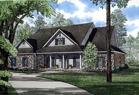 Country House Plan 82053 Elevation