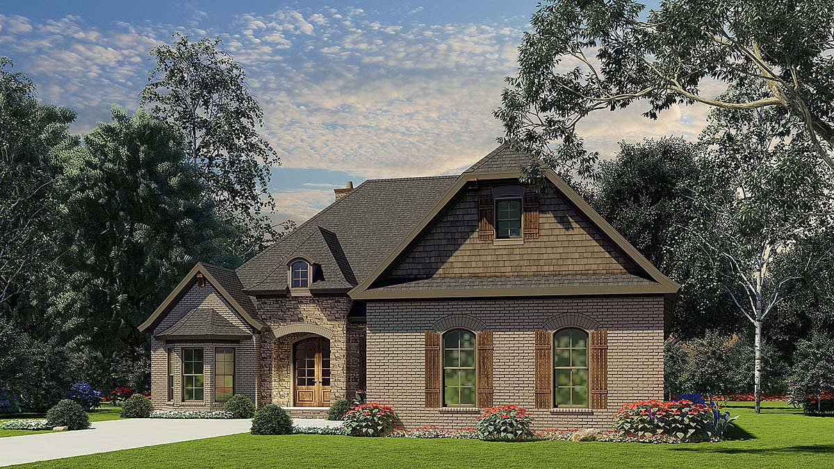 House Plan 82056 Elevation