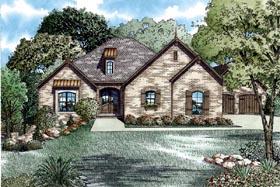 House Plan 82062 Elevation