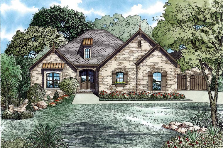 House Plan 82062 Elevation