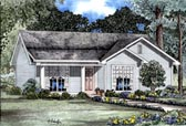 Plan Number 82064 - 1029 Square Feet