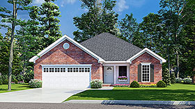 Traditional House Plan 82068 Elevation