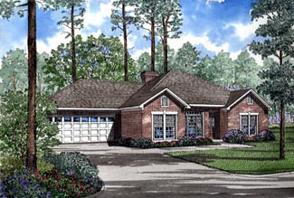 Traditional House Plan 82076 Elevation