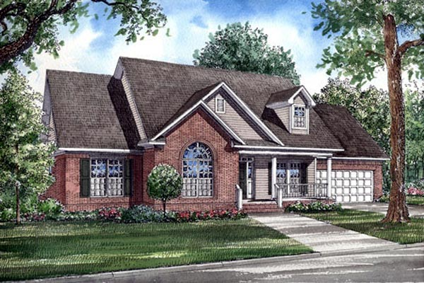 Country Traditional House Plan 82078 Elevation