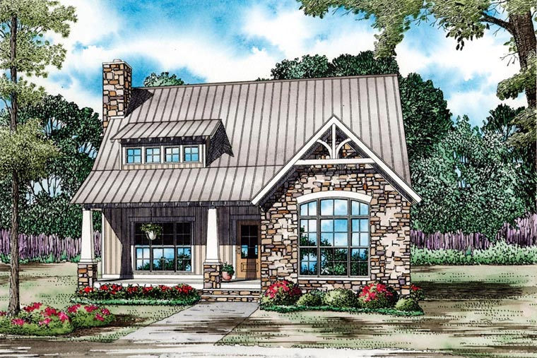 House Plan 82086 Elevation