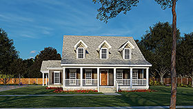 Country House Plan 82087 Elevation