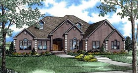 Plan Number 82090 - 3050 Square Feet