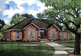Plan Number 82093 - 2744 Square Feet