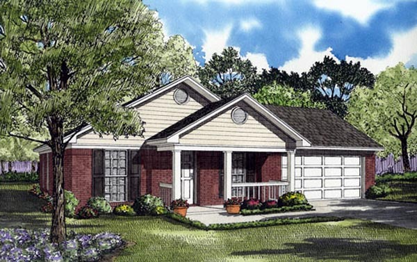 Ranch House Plan 82102 Elevation