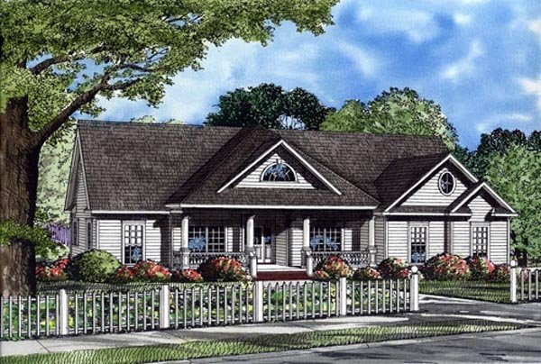 Ranch House Plan 82106 Elevation