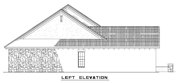 Craftsman, Italian, Mediterranean House Plan 82113 with 3 Beds, 2 Baths, 2 Car Garage Picture 8