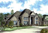 Plan Number 82121 - 7045 Square Feet