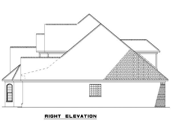 Country Craftsman European House Plan 82125