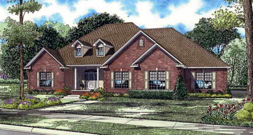 Traditional House Plan 82130 Elevation