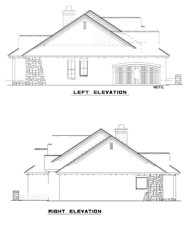 Mediterranean House Plan 82133