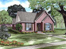 Traditional House Plan 82137 Elevation
