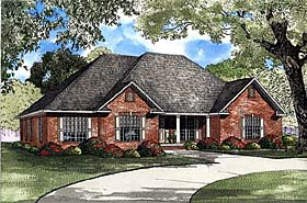 Plan Number 82143 - 2405 Square Feet