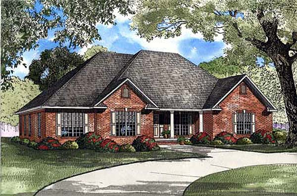 Traditional House Plan 82143 Elevation