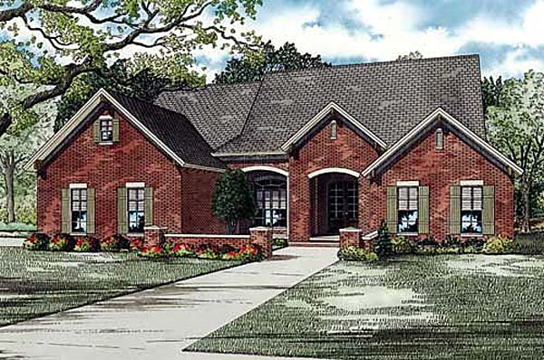Traditional House Plan 82144 Elevation