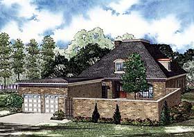 European House Plan 82146 Elevation