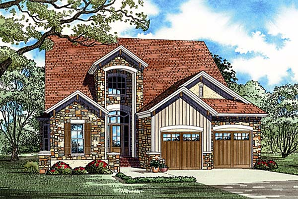 Craftsman House Plan 82148 Elevation