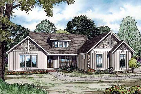 Traditional House Plan 82159 Elevation