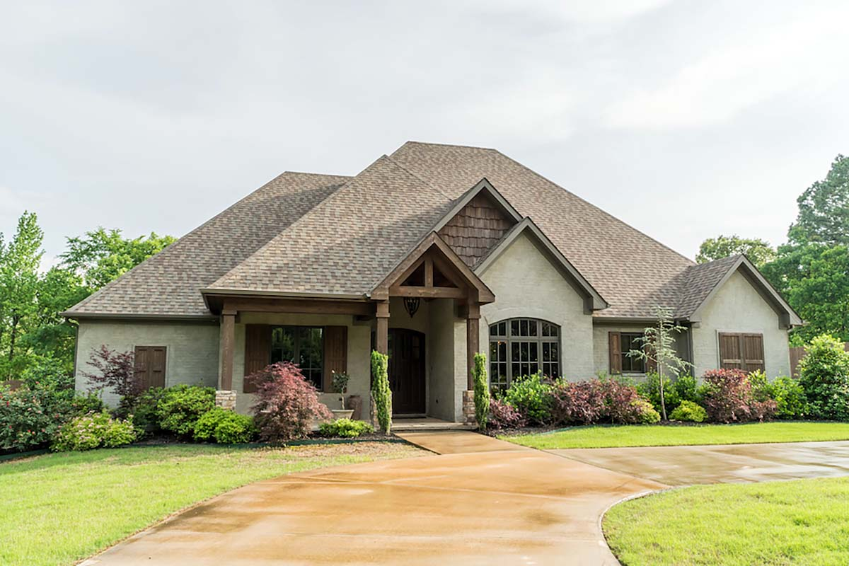 Craftsman european house plan 82162 European house plans
