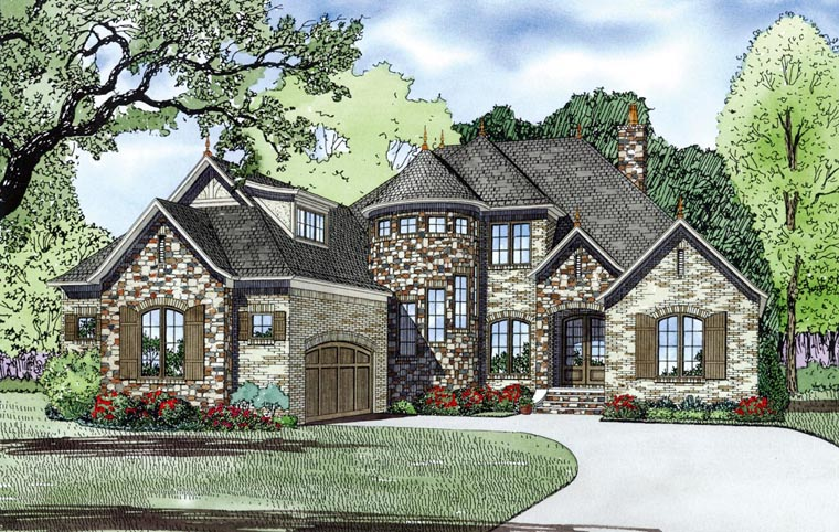 House plan 82165 at for European country house plans