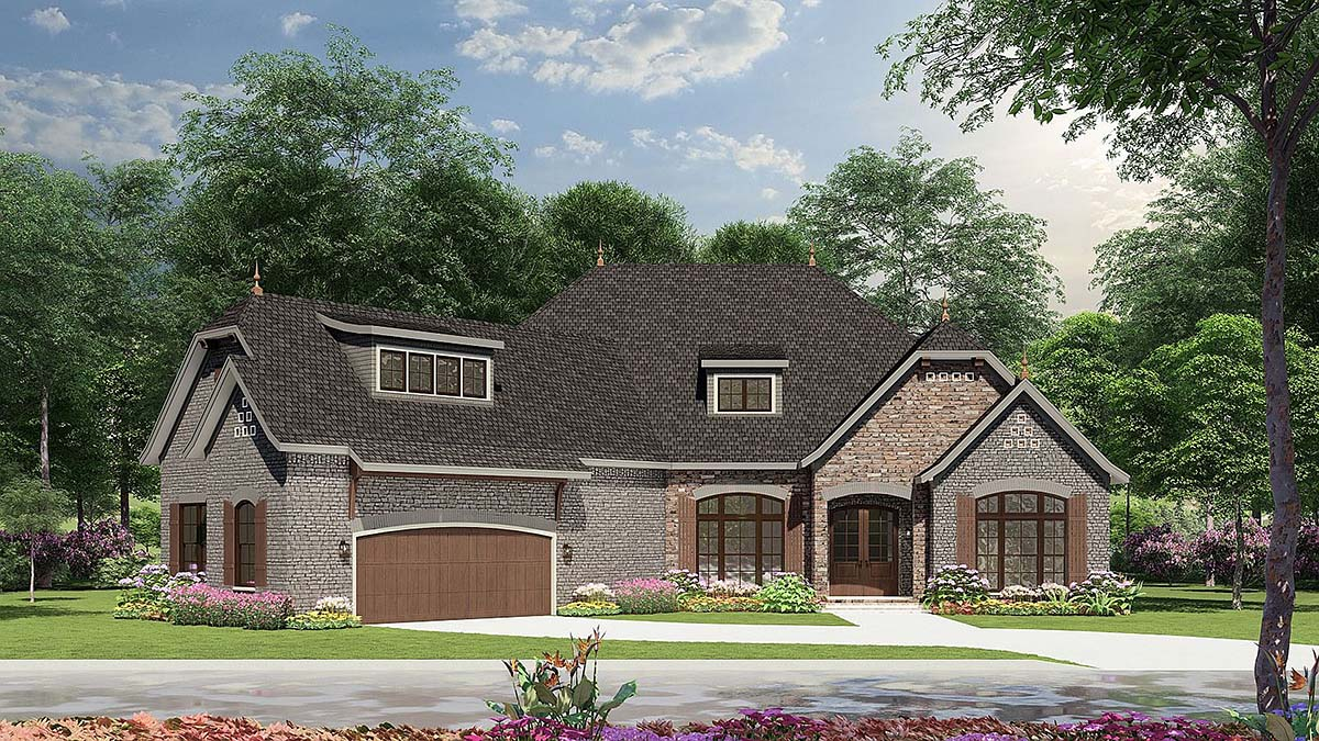 House Plan 82166 At