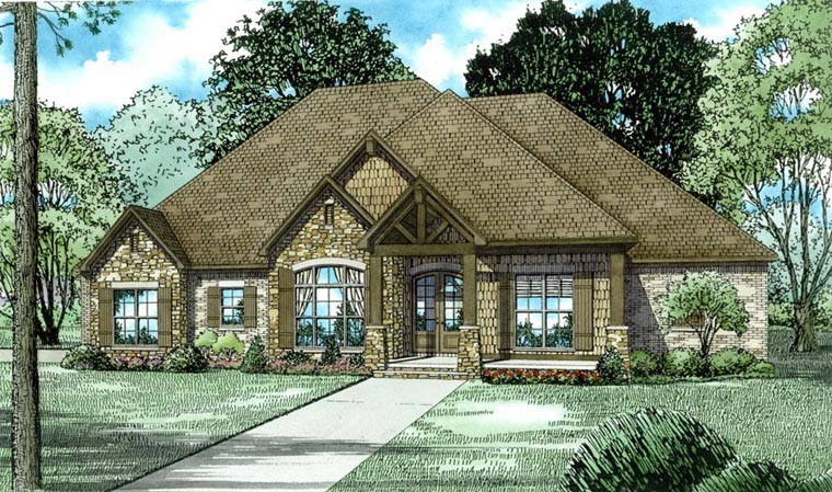 Traditional House Plan 82179 Elevation