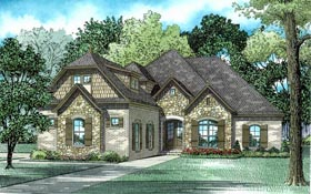 House Plan 82184 Elevation