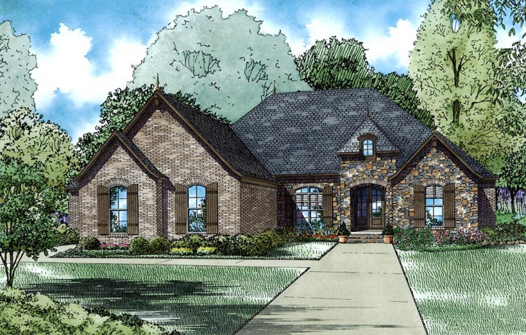 House Plan 82186 Elevation
