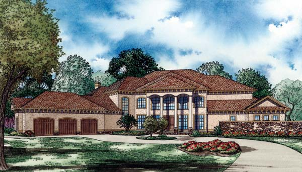Country European House Plan 82189 Elevation