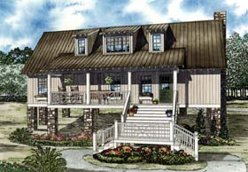 House Plan 82191 Elevation