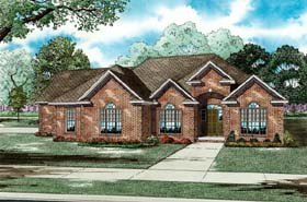 House Plan 82192 Elevation