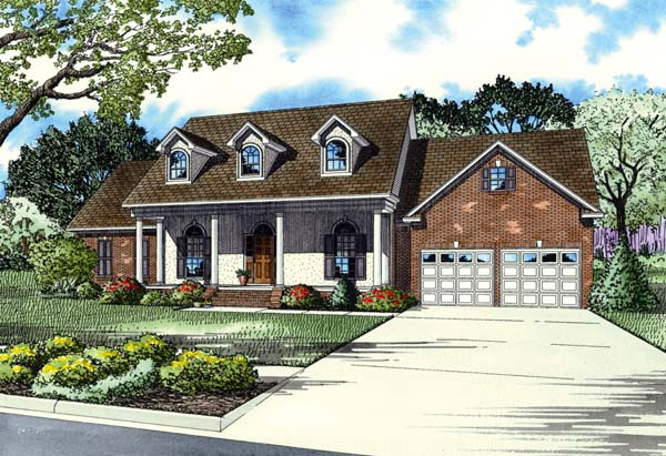 House Plan 82193 Elevation