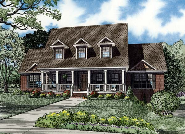 House Plan 82194 Elevation