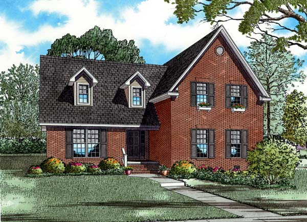 House Plan 82197 Elevation