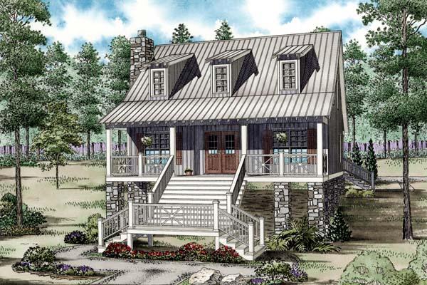 House Plan 82201 Elevation