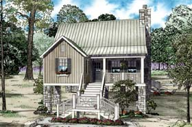 House Plan 82204 Elevation