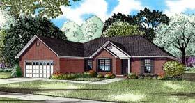 House Plan 82207 Elevation