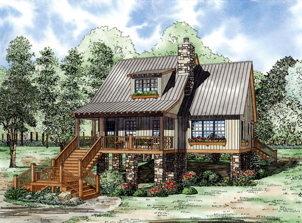House Plan 82210 Elevation