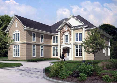 House Plan 82212 Elevation